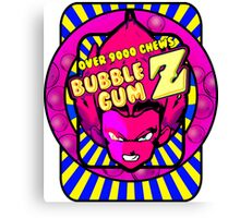 bubble gum z Canvas Print