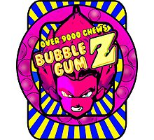 bubble gum z Photographic Print