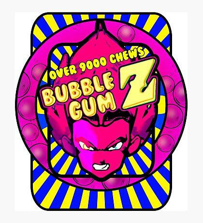 bubble gum z Photographic Print