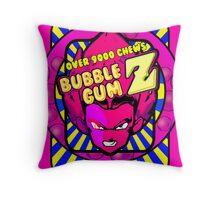 bubble gum z Throw Pillow
