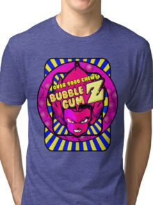 bubble gum z Tri-blend T-Shirt