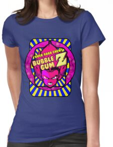 bubble gum z Womens Fitted T-Shirt