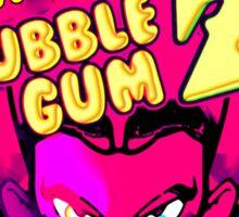 bubble gum z Sticker