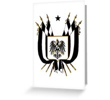 Prussia Coat of Arms Greeting Card