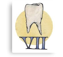 Molle Denti (Soft Teeth) Publishing Canvas Print