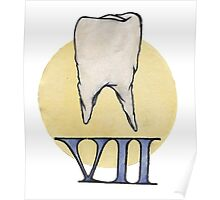 Molle Denti (Soft Teeth) Publishing Poster