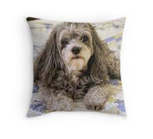 Precious Belle Throw Pillow