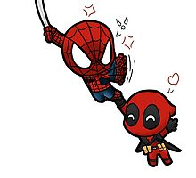 spidey and pool by Nickyparson