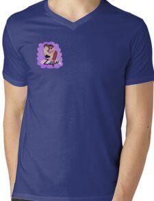 Zalfie Ribbon Mens V-Neck T-Shirt
