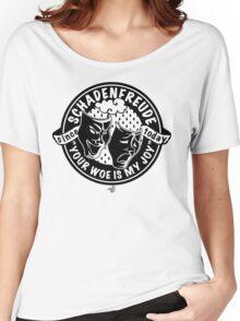 Original Schadenfreude logo by Tai's Tees Women's Relaxed Fit T-Shirt