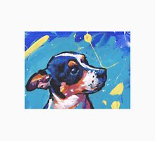 Rat Terrier Dog Bright colorful pop dog art Unisex T-Shirt