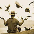 Bird Man by artsphotoshop