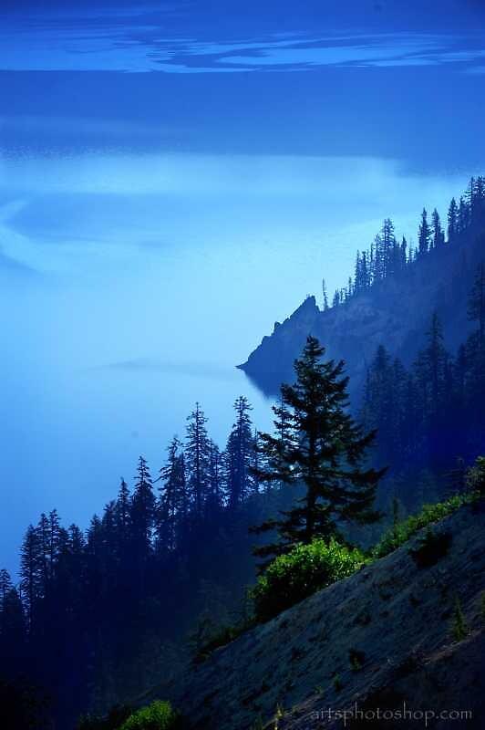 Crater Lake II by artsphotoshop