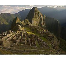 Machu Picchu - Peru Photographic Print