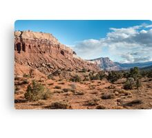 Scenic Drive – Capitol Reef National Park, Utah Canvas Print