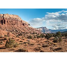 Scenic Drive – Capitol Reef National Park, Utah Photographic Print