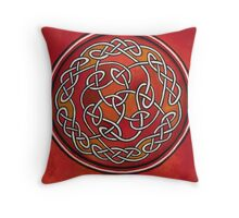 Meditation Wheel Throw Pillow