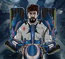 Alonso Mechformer Racing Driver by akyanyme1