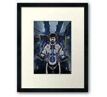 Alonso Mechformer Racing Driver Framed Print