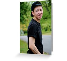 Justin Thompson Greeting Card