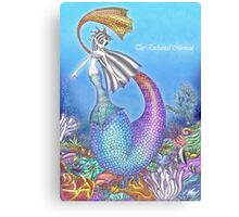 The Enchanted Mermaid Canvas Print