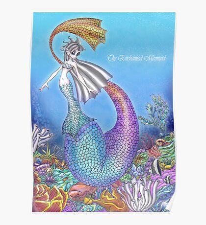 The Enchanted Mermaid Poster