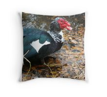 Uncle Caruncle Throw Pillow