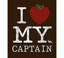 I Love My Captain Photographic Print