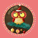 Little Christmas Owl by colonelle