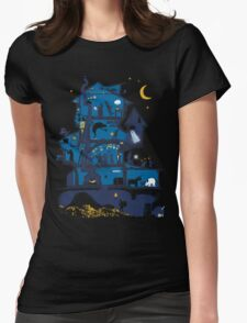 Wizard's Castle Womens Fitted T-Shirt