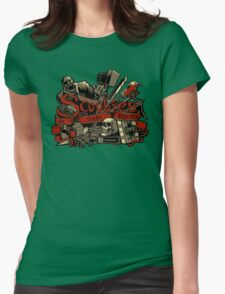 Scoobies Womens Fitted T-Shirt