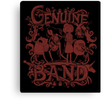 Genuine Band Canvas Print