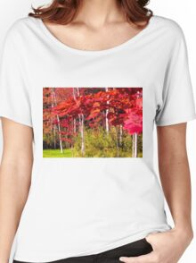 Canadian Maple Women's Relaxed Fit T-Shirt