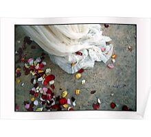 Wedding Dress Detail Dos Poster