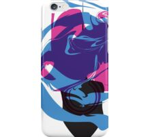 Colorfully Hidden Stingray iPhone Case/Skin