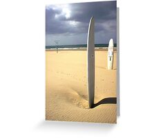 Vertical Surf Greeting Card