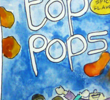 Top Pops Ruled My Life Sticker