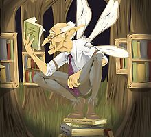 Faerie Philosopher by Benjamin Bader