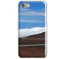 Road Above the Clouds iPhone Case/Skin
