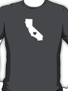 California Heart T-Shirt