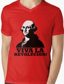 Viva La American Revolucion! Mens V-Neck T-Shirt