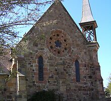 Catholic Church, Carcoar, NSW by Jan Richardson