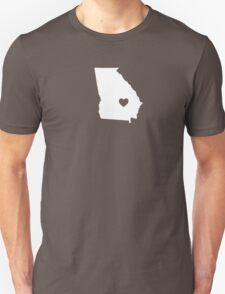 Georgia Heart Unisex T-Shirt