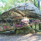 Where Is This Rock Located?  Balance Rock in Lanesborough, Mass. by ChereeCheree