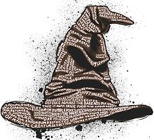 The Sorting Dictionary Hat by njonestees