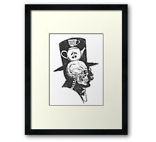 A gentlemen's X-ray Framed Print