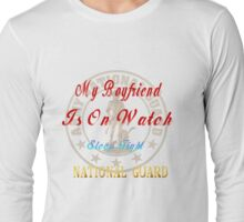 National Guard_My Boyfriend Long Sleeve T-Shirt