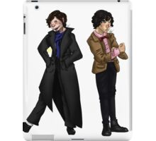 Holmes and Who iPad Case/Skin