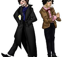 Holmes and Who by dreamcarie