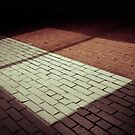 four square (wall shadow) by PJ Ryan